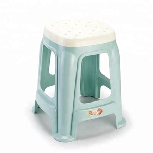 Faction Design Quare shape colourful stacking Plastic Stool for living room
