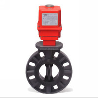 electric actuator pvc butterfly valve