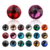 aaaaa 2088 hivis non hotfix flat back glitter jewelry trim transfer motif lead free self adhesive rhinestones for sunglasses