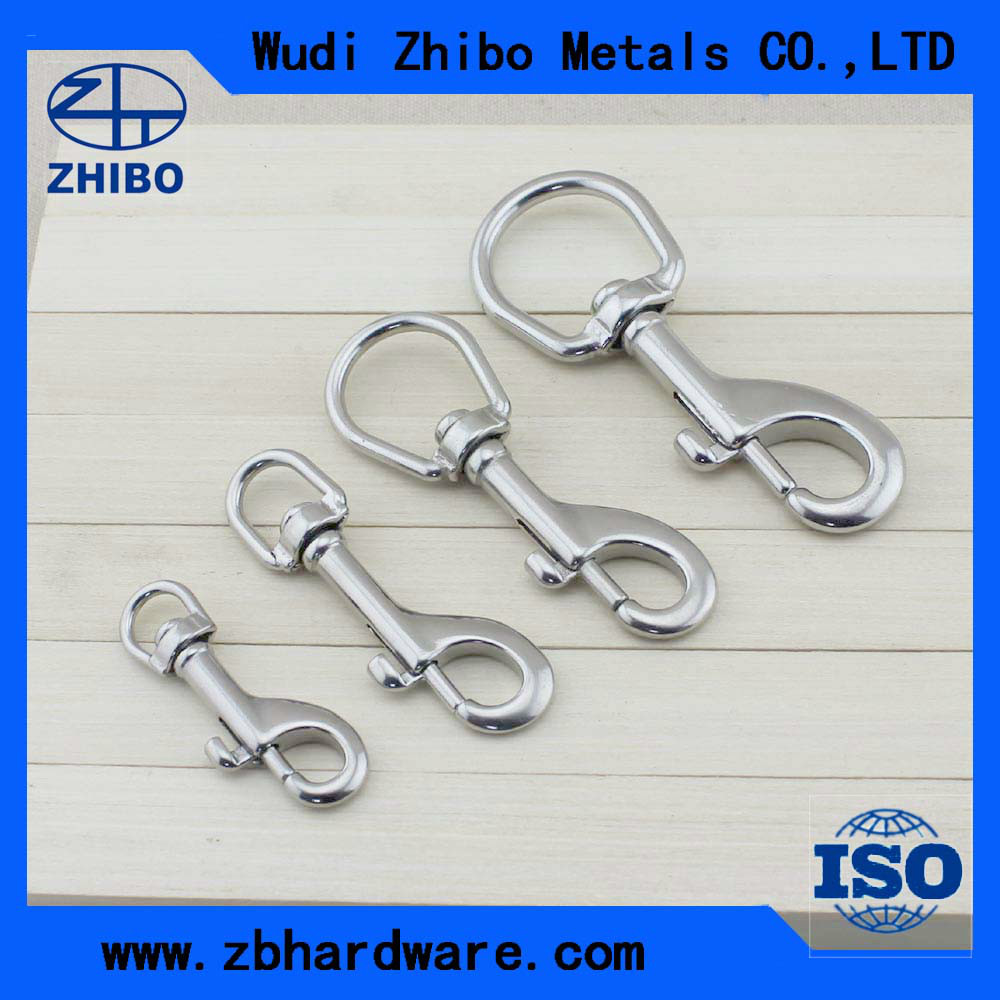 China manufacture Single metal dog leash snap hook with high quality