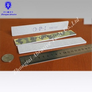 White Nail File 80/80 178 x 20 or 150 x 20