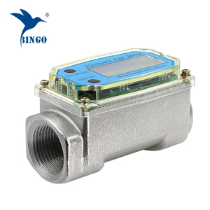 Electronic digital pulser turbine flow meter with high precision for oil or water flow meter