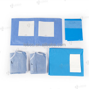 Sterile Disposable SURGICAL Cardiovascular Angiography DRAPE PACK