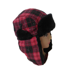 abbfd37a5d56be Plaid Trapper Hat, Plaid Trapper Hat Suppliers and Manufacturers at  Alibaba.com