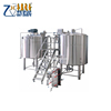 Used Condition Fermenting Equipment Processing complete micro beer brew house/mash system