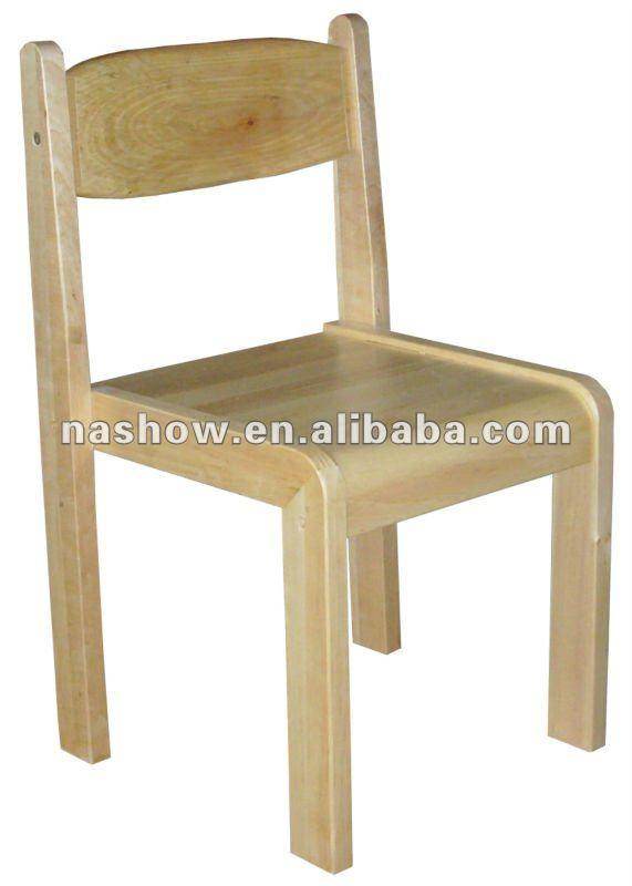 Ni os ni os silla de madera moderna sillas para ni os for Silla madera ninos