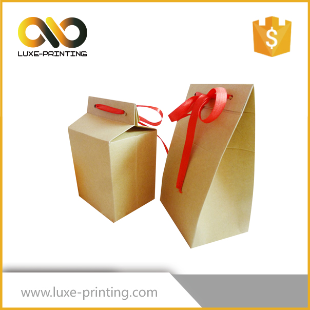Custom biodegradable food grade recycled kraft paper bag for milk powder