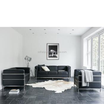 Bon Foshan Haiyue Classical Le Corbusier Lc3 Sofa/le Corbusier Sofa Lc2/le Corbusier  Sofa
