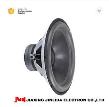 Factory supply 18inch subwoofer with 400W RMS 18inch car subwoofer for cars