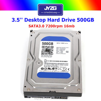 Cheap 3.5 inch SATA used 500gb hdd for desktop computer hard disk
