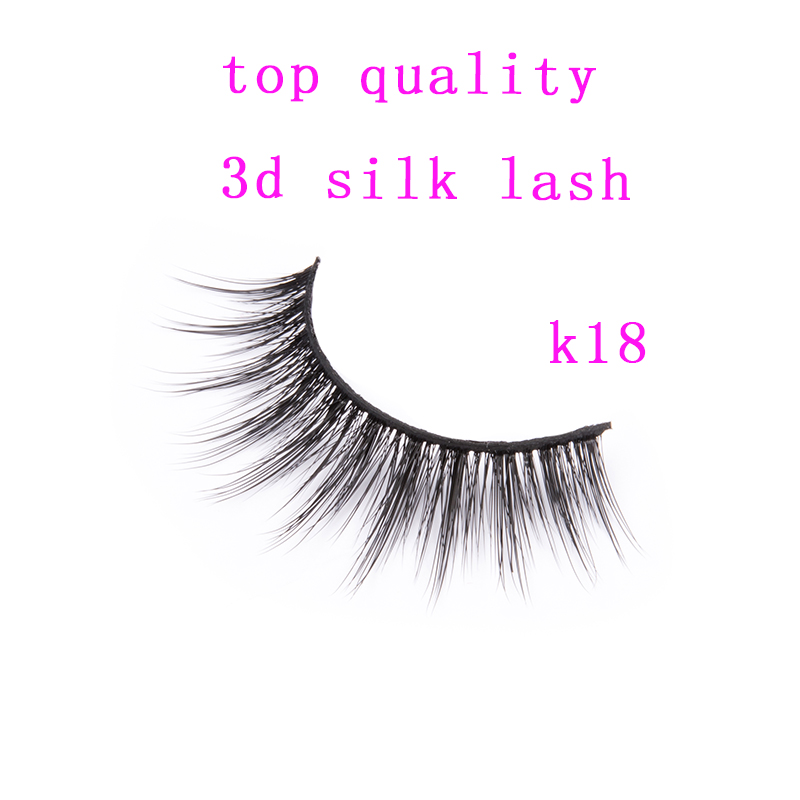 1d53b5960a9 whole sale high quality OEM brand 3d silk lashes synthitic mink lashes