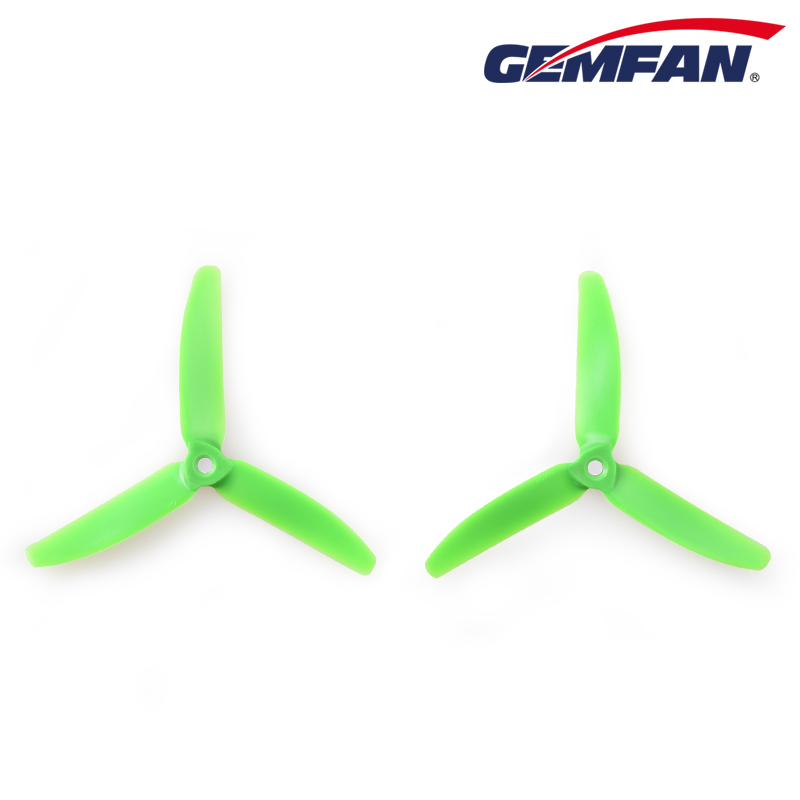 new design gemfan 5040 tri blade suspension scale model airplane props for remote control helicopter