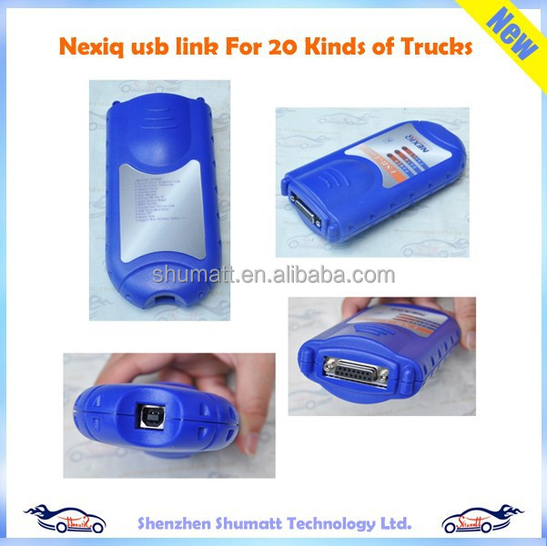NEXIQ 125032 USB Link 24V Heavy Duty Diesel Truck Diagnose Scanner Tools Interface and Software For 20 Kinds of Trucks