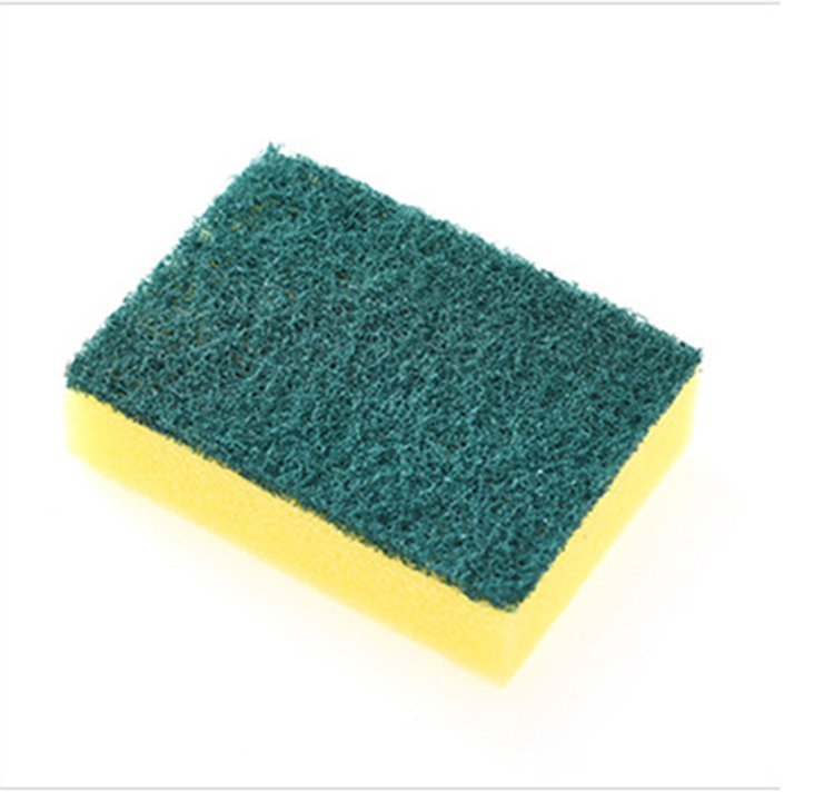 Daily necessity recyclable high quality kitchen cleaning sponge/kitchen cleaning sponge scrubber and sponge for dish