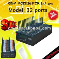 Best quality!16 port gsm modem with 16 sim card slots for bulk sms sending usb service only port