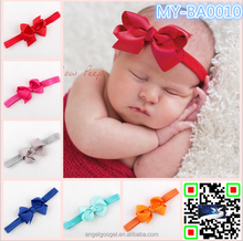 Elastic headbands baby Lace Ribbon Hair Bows Costume Accessories MY-BA0010