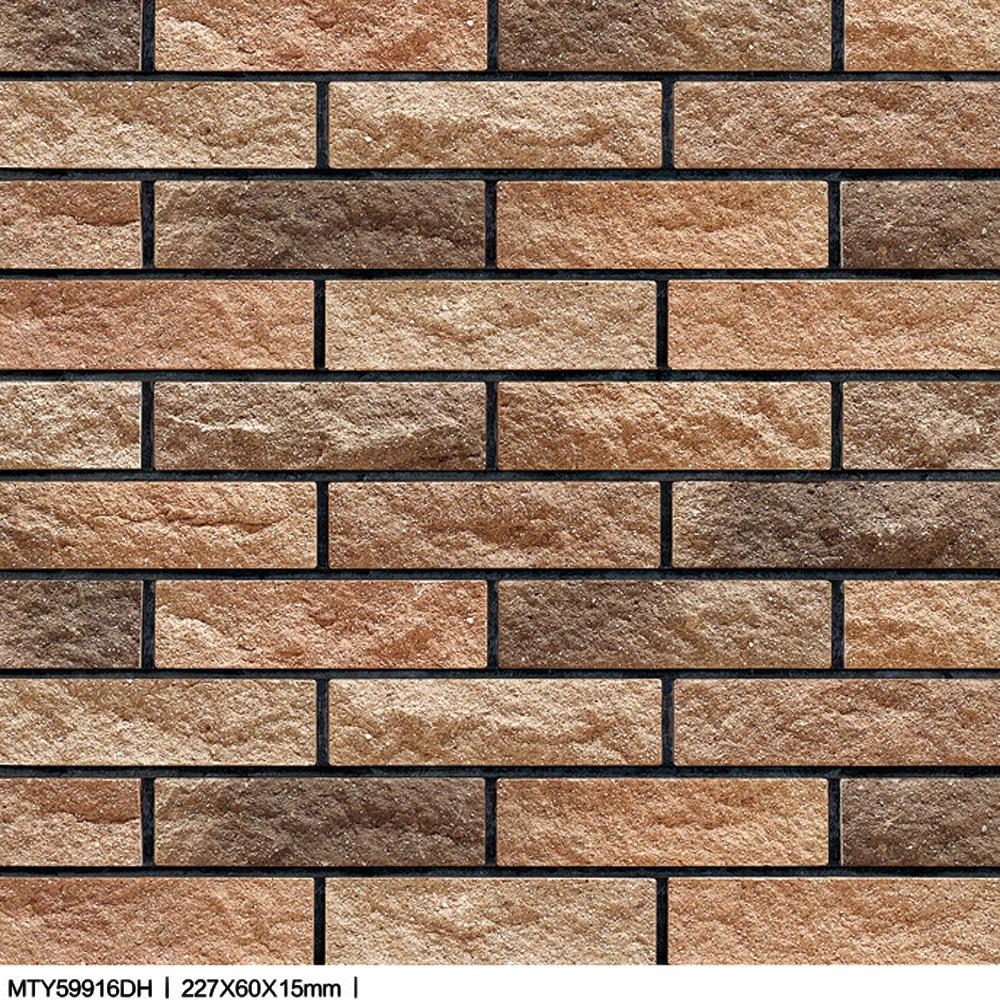 granite design ceramic Xiahui split rock bricks exterior glazed wall ...