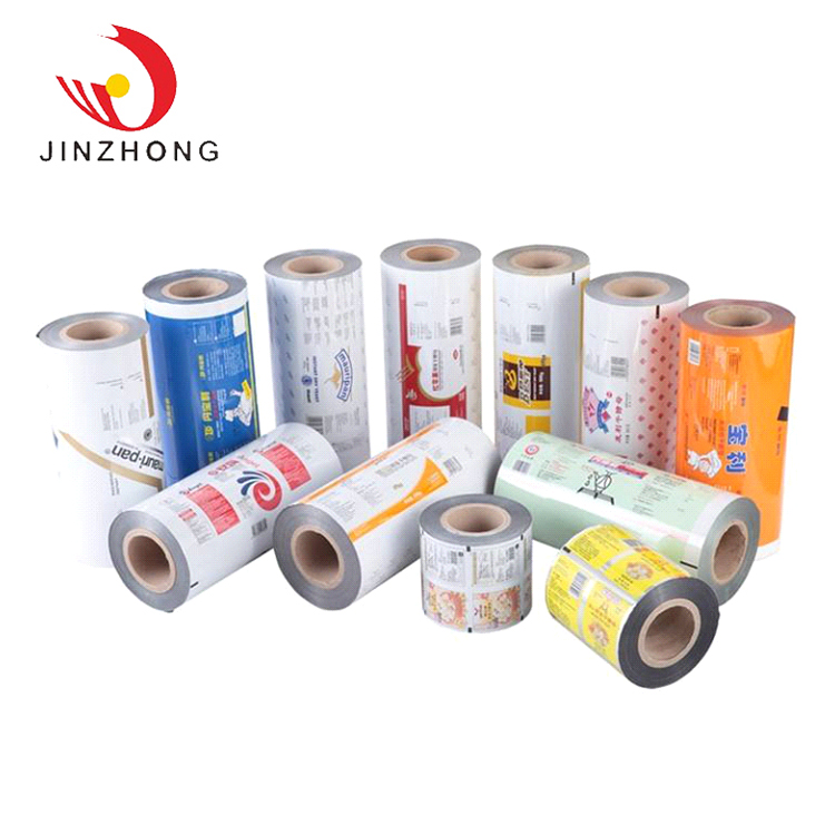 Hoge Kwaliteit In China Metalized Food Grade Plastic Verpakking Film Roll