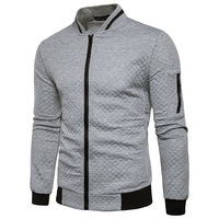 Amazon Best Sellers Mens Casual Soft Lightweight Zip Up men Bomber Jacket With Diamond Plaid