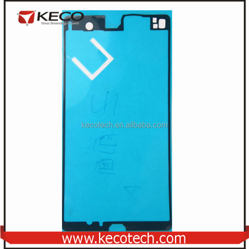 pretty nice 855fe 24e02 Original Battery Back Cover + Front Frame Adhesive Glue Sticker Tape For  Sony Xperia Z L36h Yuga C6603 C6602 - Buy For Sony Xperia Z L36h Parts,Face  ...