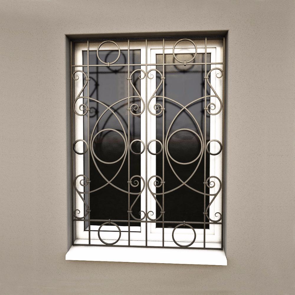 جديد أسلوب تزوير الحديد التصميم لل انزلاق النوافذ نافذة