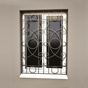 New Style Forging Iron Window Grills Design For Sliding Windows