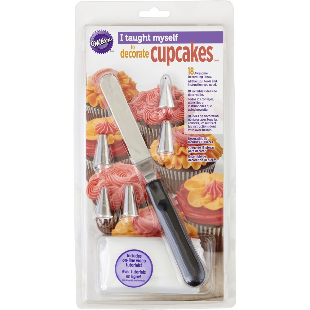 "Wilton""I Taught Myself To Decorate Cupcakes"" Cupcake Decorating Book Set - How To Decorate Cupcakes"