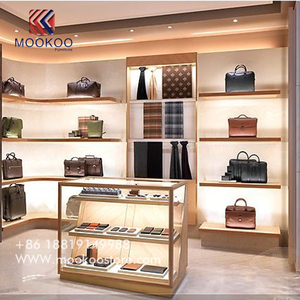 Lv Luxury Bags Shop Display Shelf Wallet Display Cabinet For Shopping Mall