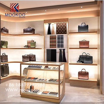 Lv Luxury Bags Display Shelf Wallet Cabinet For Ping Mall