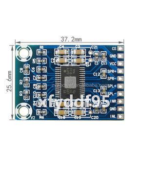 Ultra Mini Tpa3116d2 Digital Audio Amplifier Board Class D Amp 2x50w Dc 12v  24v - Buy Mini Digital Audio Amplifier Board,100w Audio Amplifier Board