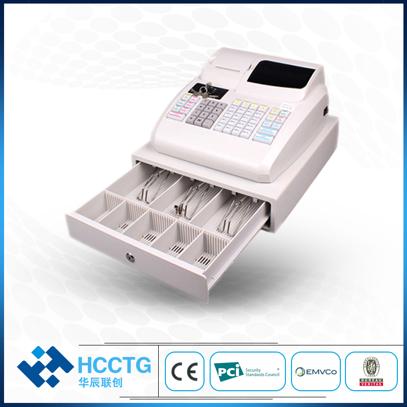 Desktop USB Electronic Cash Drawer POS Cash Register ECR100