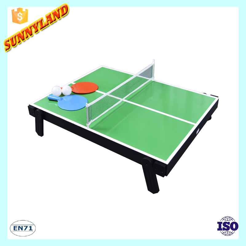 2017 Hot Selling 4 In 1 Multi Game Table For Kids(Table Tennis Bowling Curling&Shufflboard)