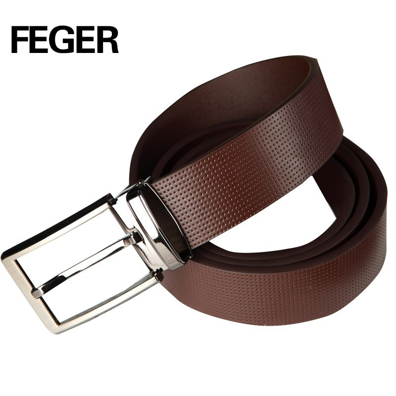 long strap simple pin buckle brown leather men <strong>belt</strong>