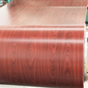wooden pattern ppgi prepainted galvanized steel coil/wood grain steel sheet