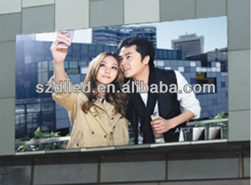power saving P12 Outdoor full color 7 segment led display 5 digits