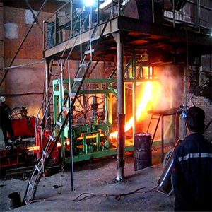 Hot top aluminum billets casting machine