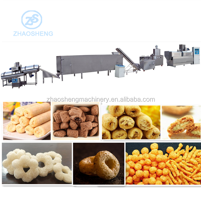 Food grade stainless steel high quality machine for snacks food