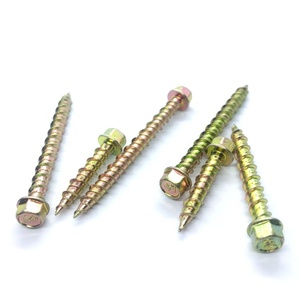 DIN6928 Free Sample Stainless Steel Color-plated Zinc Hex Head Self Tapping Screw