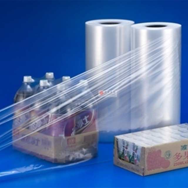 Accept Custom Size High Shrinkage PE Plastic Colored Shrink Film For Wrapping