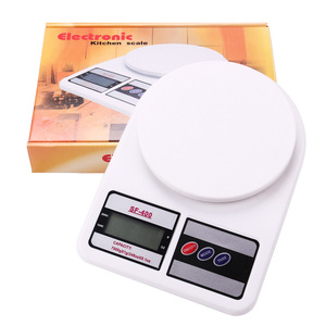 2019 Ce Rohs 5Kg 10Kg Abs Cheapest Sf400  Plastic Digital Diet Sf 400A Manual Kitchen Food Scale Oem