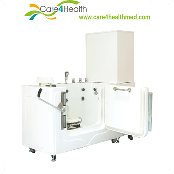the elderly auto self cleaning bathing deity Walk in tub automatic massage bathtub machine