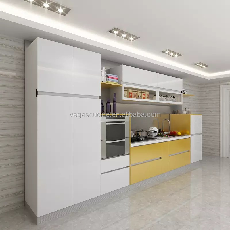 acrylic low price indian free used kitchen cabinets