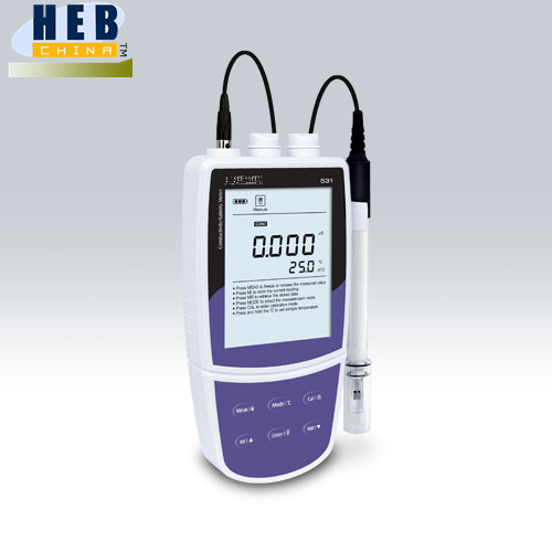 HEB531 Good quality portable conductivity/salinity meter