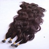 Wholesale Factory Price I Tip Hair Extension Double Draw Curly Indian Remy Human Hair