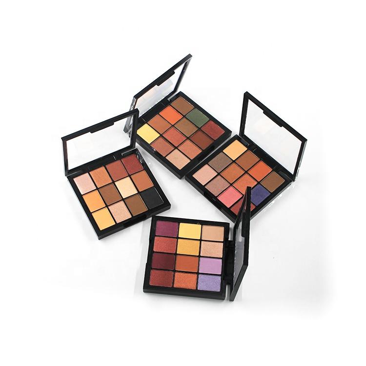 Cardboard package 10 colors private label eyeshadow palette фото