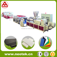 for kitchen cabinet latest material Pvc Foam Sheet machine Foam Board making Machine foam plate extrusion machinery1220