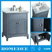 Homedee Vanity Combo Type and Installation Type Bathroom Vanity / Single Sink Batroom Cabinet