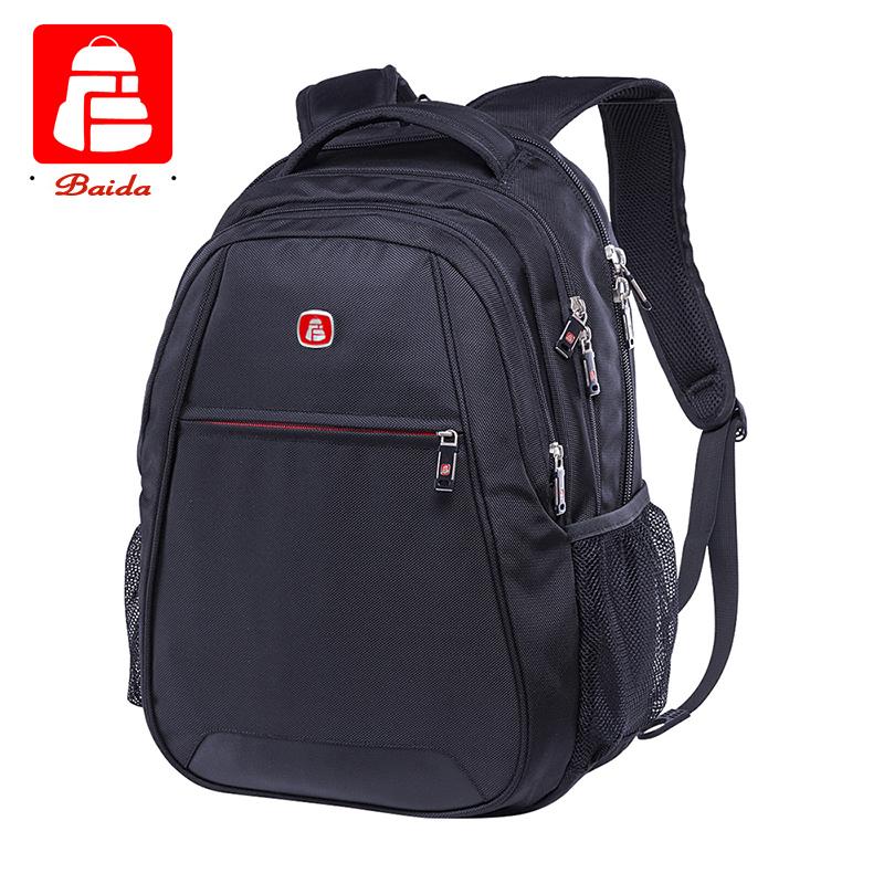 55e735254b2e BAIDA 2015 High Quality Backpack Women Men Casual Fashion Backpacks Boy  Girl School Bags For Teenagers Travel Women Bag mochilas