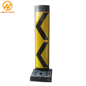 Hot Sale Reflective Collapsible Plastic Traffic Road Divider