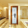 Luxury design glass aluminum alloy door design